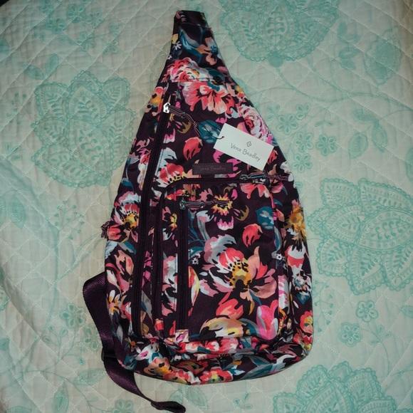 NWT! Vera Bradley Sling Backpack